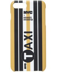 meli melo Nyc Phone Case   6plus , 6splus, 7 , 8, 7plus , 8plus, X , Xs   Taxi - Multicolour