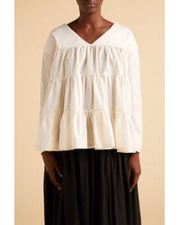 Merlette Sidonia Blouse?variant=39312791634022 - White