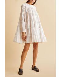 Merlette Soliman Dress ?variant=31491925901414 - White