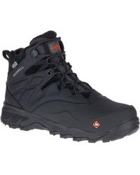 "Merrell Thermo Adventure 6"" Ice+ Waterproof Comp Toe Work Boot - Black"