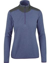 4ca8db7fd The North Face Flux 2 Power Stretch Quarter Zip Pullover - Lyst