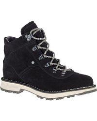Merrell Sugarbush Waterproof Suede Boot - Black