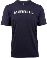 Merrell - Wordmark Tee - Lyst