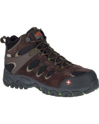 Merrell | Ridgepass Bolt Mid Waterproof Comp Toe Work Boot | Lyst