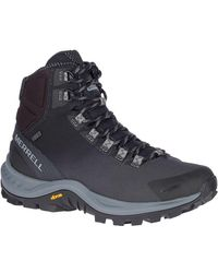 Merrell Thermo Crossover 6 Inch Waterproof Walking Boots - Blue
