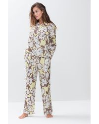 Mey Pyjama-Shirt - Gelb