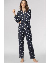 Mey Pyjama Shirt - Grau