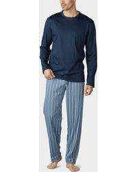 Mey Schlafanzug - Blau