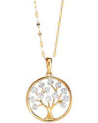 WENZ Hanger Boom Met Diamant - Metallic