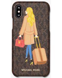 Michael Kors Cover Per Cellulare Jet Set Girls Zoe Per Iphone 11 Pro - Multicolore