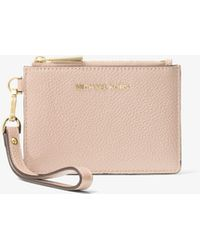 Michael Kors - Mercer Small Leather Coin Purse - Lyst