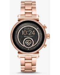 Michael Kors Gen 4 Sofie Rose Gold-Tone Smartwatch - Mehrfarbig