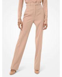 Michael Kors Wool-gabardine Pants - Multicolour