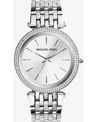 Michael Kors Darci Silver-tone Watch - Metallic