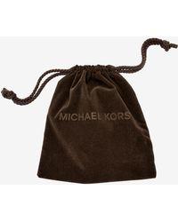 Michael Kors - Padlock Rose Gold-tone Toggle Bracelet - Lyst