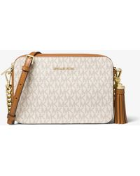 Michael Kors Ginny Medium Logo Crossbody Bag - Multicolour