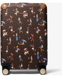Michael Kors Small Jet Set Girls Logo Suitcase - Multicolor