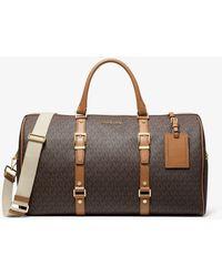 Michael Kors Bedford Legacy Extra-large Logo Weekender Bag - Brown