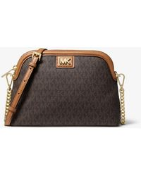 Michael Kors Michael Signature Dome Crossbody - Multicolour