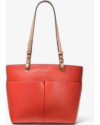 25c6a18ce03b MICHAEL Michael Kors - Bedford Medium Pebbled Leather Tote Bag - Lyst