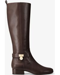 Michael Kors - Ryan Leather Boot - Lyst