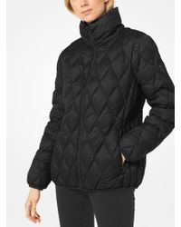 Michael Kors - Quilted Nylon Packable Down Jacket - Lyst