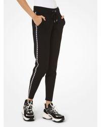 Michael Kors Logo Tape sweatpants - Black
