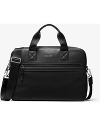 Michael Kors Brooklyn Nylon Briefcase - Black