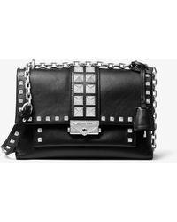 MICHAEL Michael Kors Cece Canvas Chain Xbody Bag Black