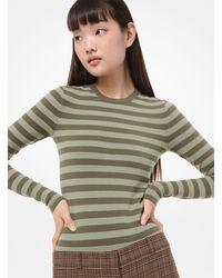 Michael Kors Crew Bodysuit - Green