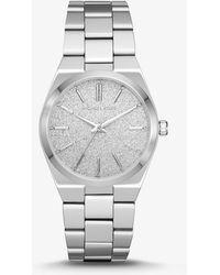 Michael Kors - Channing Silver-tone Watch - Lyst