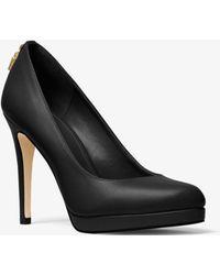 Michael Kors - Zapato De Salón Antoinette De Piel - Lyst