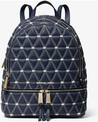 Michael Kors - Rhea Medium Quilted Leather Backpack - Lyst