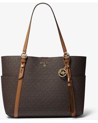 Michael Kors Sullivan Small Logo Tote Bag - Brown