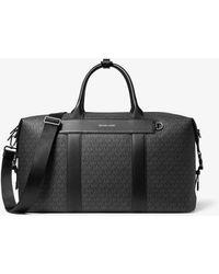 Michael Kors Greyson Logo Duffle Bag - Negro