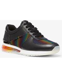 Sneaker In Cosmo Aus Und Neopren Leder Michael Kors TOXPukZi