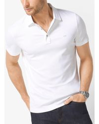 Michael Kors Polo in cotone - Bianco