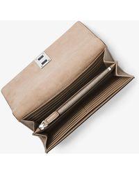 Michael Kors | Miranda Leather Continental Wallet | Lyst