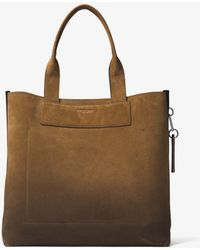 Michael Kors - Henry Large Suede Tote - Lyst