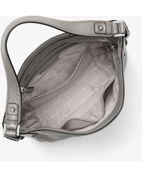 5c41eb4130ae3 Michael Kors - Bedford Large Leather Shoulder Bag - Lyst
