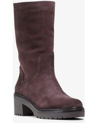 Michael Kors Whitaker Suede Boot - Brown