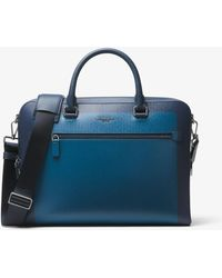 Michael Kors - Harrison Medium Color-block Briefcase - Lyst