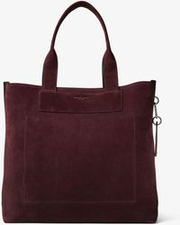 Michael Kors Henry Large Suede Tote - Multicolour