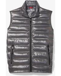 Michael Kors Quilted Nylon Vest - Gray