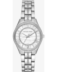 Michael Kors Mini Lauryn Stainless Steel Bracelet Watch - Metallic