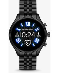 Michael Kors Lexington 2 Black-Tone Smartwatch - Schwarz