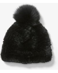 Michael Kors - Fur Beanie - Lyst