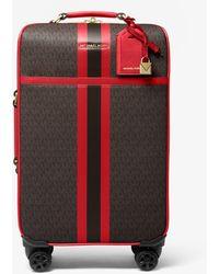 Michael Kors Maleta Bedford Travel Extragrande Con Rayas Y Logotipo - Multicolor