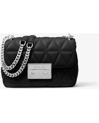 Michael Kors Sloan Small Chain Shoulder Bag Black