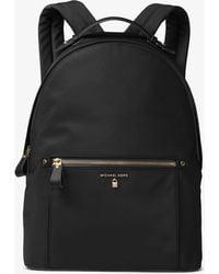 Michael Kors Kelsey Nylon Backpack - Black